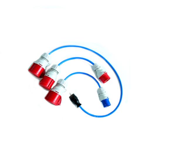 Adapter 3-teilig für go-eCharger HOME+